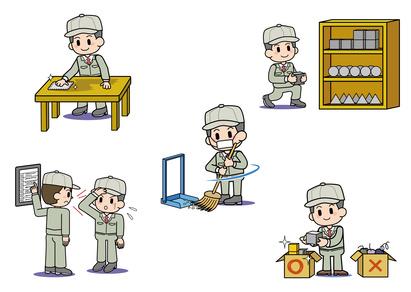 5S活動の5つのイメージ