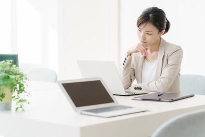 ビジネス文書を考える筆