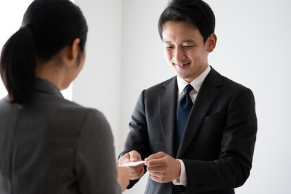 ビジネスマナーのイメージ写真