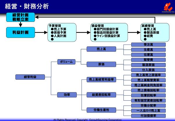 経営財務調査分析の事例