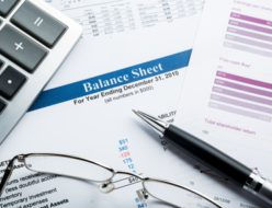 貸借対照表のイメージ