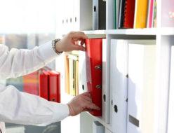 書類整理のイメージ
