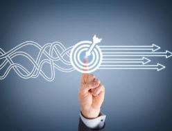 業務目標の設定とブレークダウンイメージ