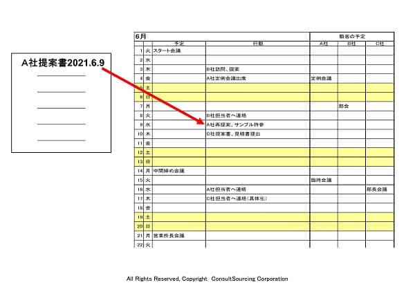 日付ファイル名のツール事例